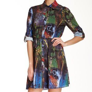 Alice + Olivia Teny Printed Shirtdress